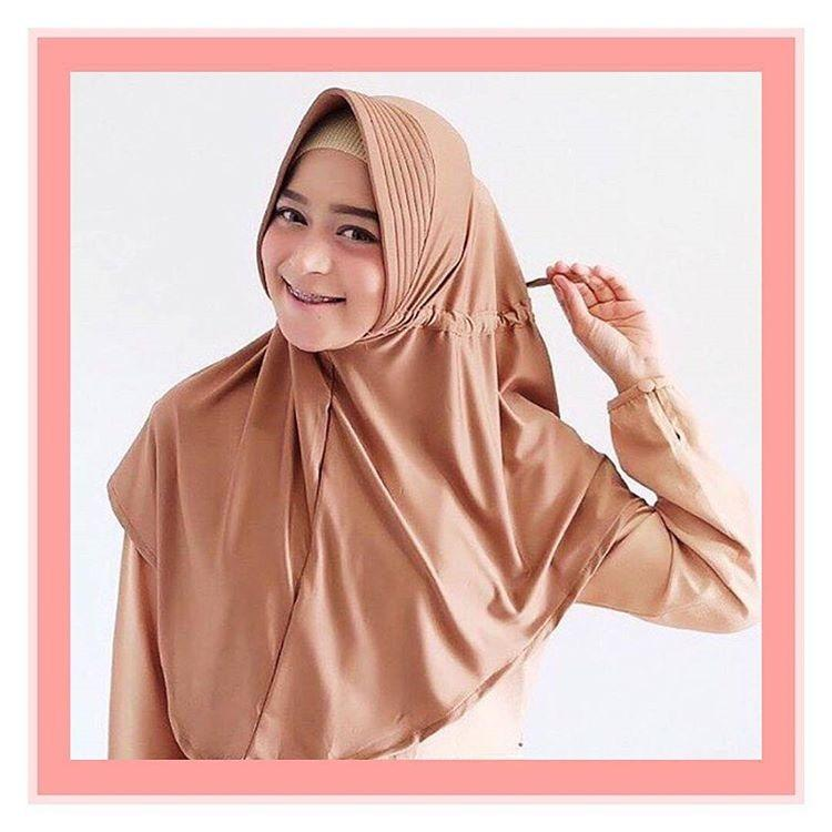 Kobuca Store Jilbab Serut Adiba Jokowi - hijab kekinian hijab model masa kini