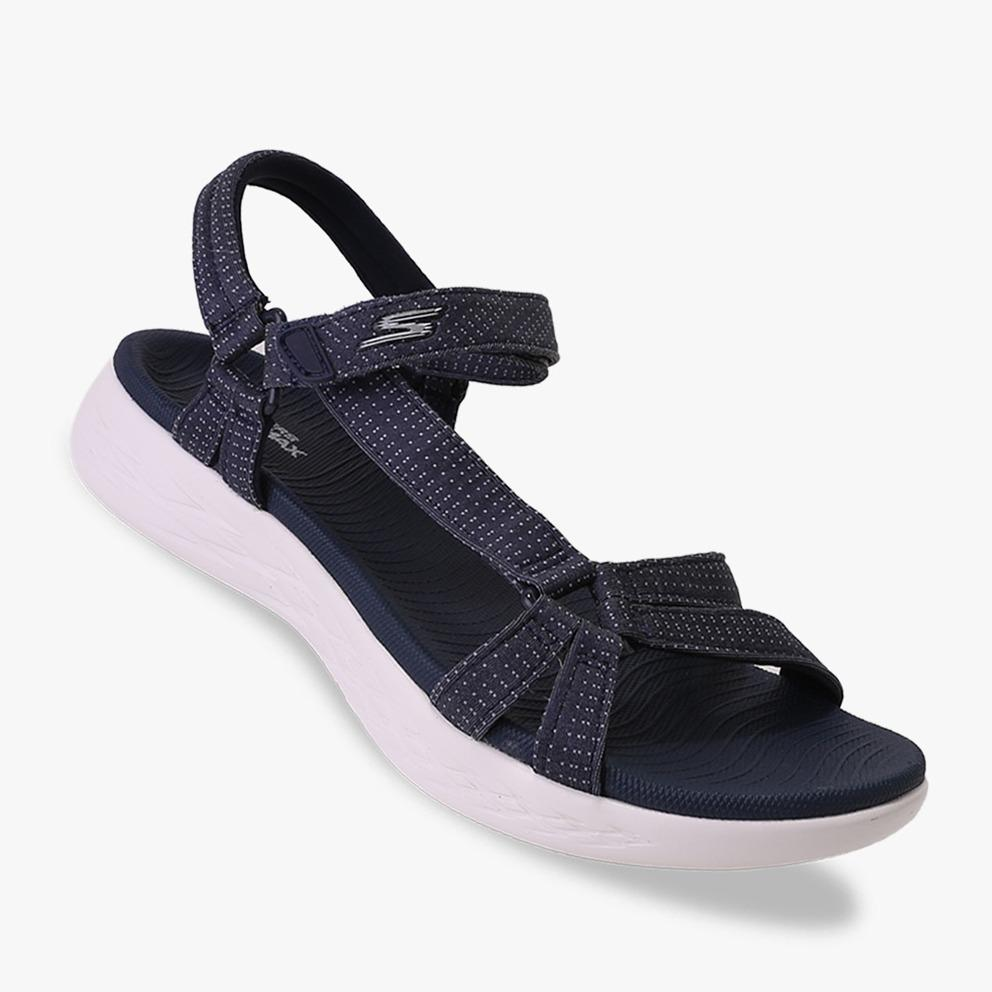 Skechers On The Go 600 - Brilliancy Sandal Wanitas - Navy 61745be310