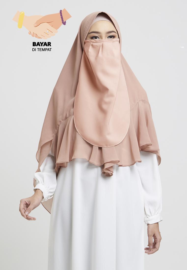 Cotton Bee Khawla Cadar Tali Niqab Katun Premium Berkualitas