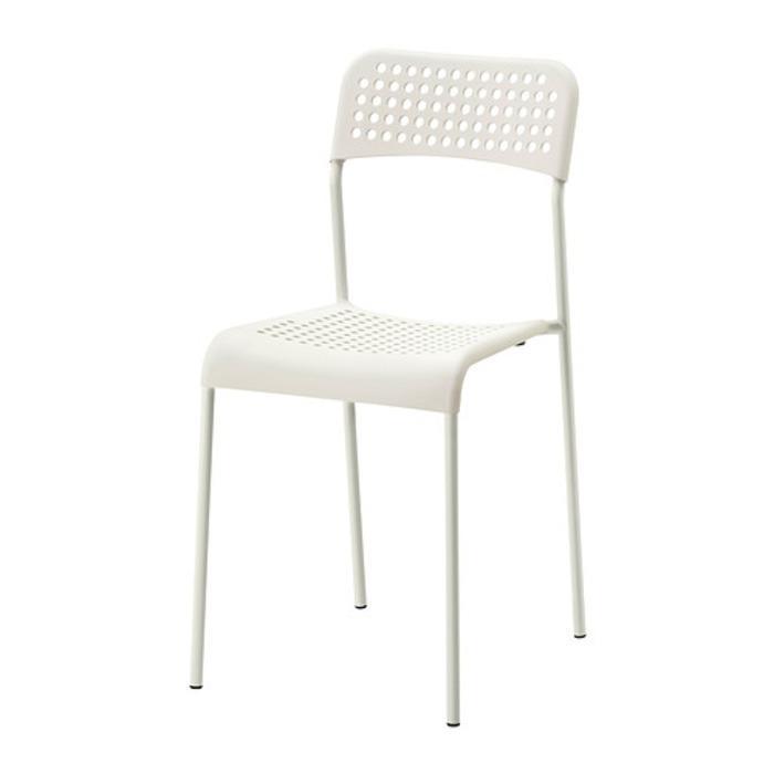 IKEA ADDE Kursi, Putih