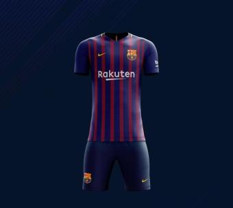 Pencarian Termurah Zoc Jersey Bola Kaos Olahraga T-Shirt BARCA SET CELANA Home / Away / 3RD harga penawaran - Hanya Rp102.750