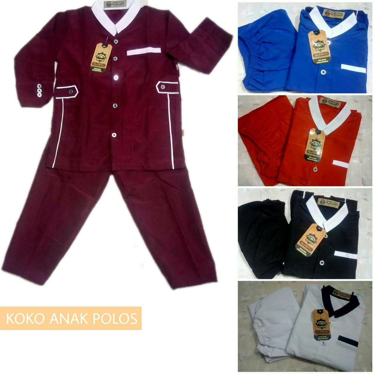 Pakaian Fashion Anak Laki Branded Collection Kaos Polo Setelan Cowok Baju