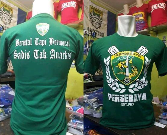 Baju Kaos Bonek Persebaya Surabaya Non Jersey