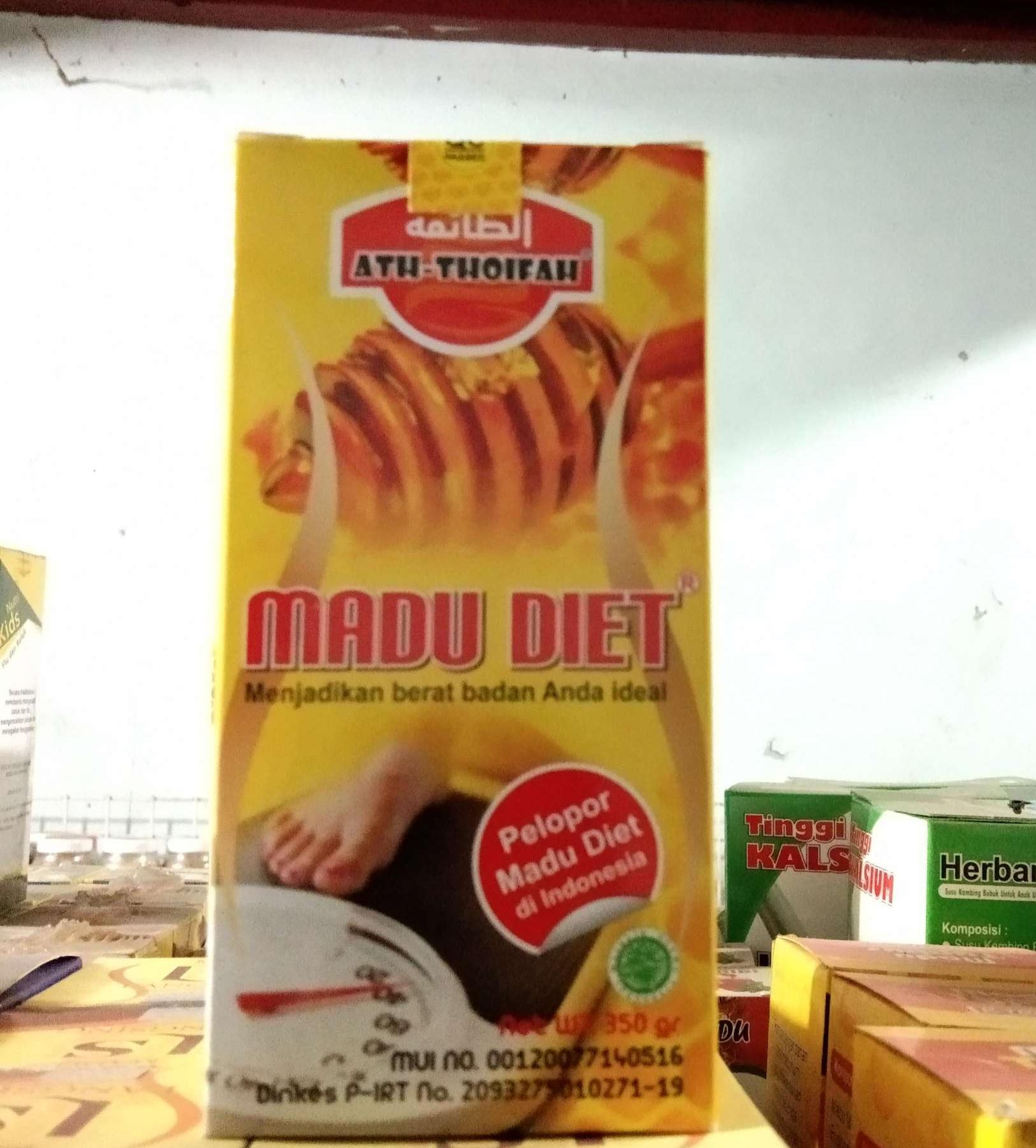 Buy Sell Cheapest Madu Diet Atthoifah Best Quality Product Deals 350gr
