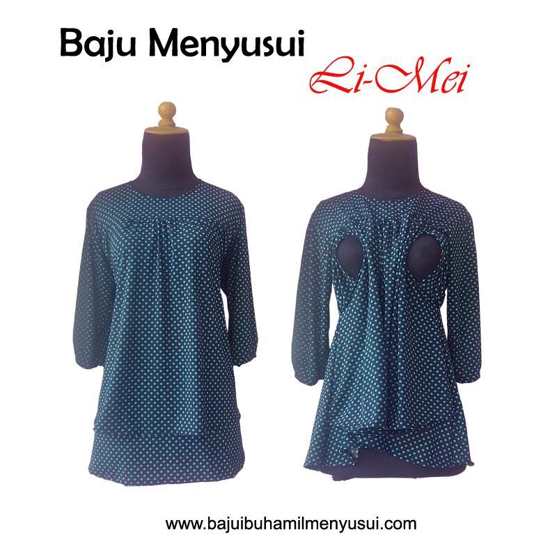 Baju Ibu Hamil Menyusui Li-Mei