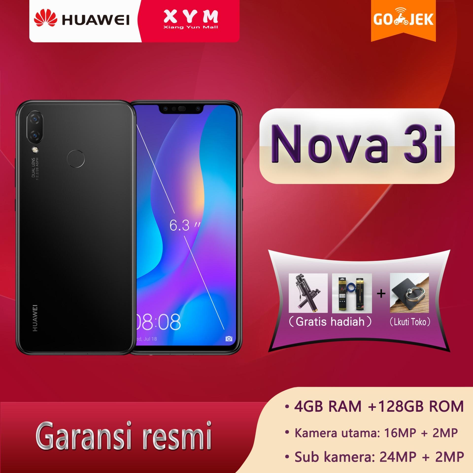 Handphone Huawei Lengkap P10 Plus Ram 6gb Memori 128gb Garansi 1 Tahun Nova 3i 4g 128g 63 Inch Layar 4 X Kamera Komunikasi Ai