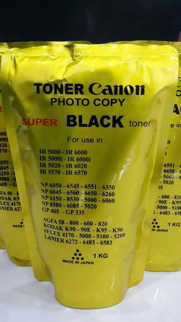 Promo Serbuk / Bubuk Toner Fotocopy Canon Super Black Original