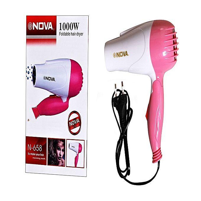 Nova Hair Dryer Portable/Pengering Rambut Travel