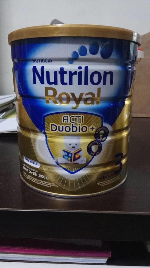 Nutrilon Royal 3 Acti Duobio+ Vanila 800 gram