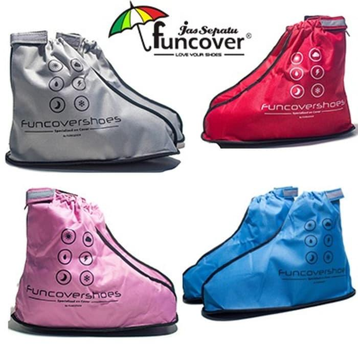 Jas sepatu cover shoes mantel hujan anti air Funcover cosh -