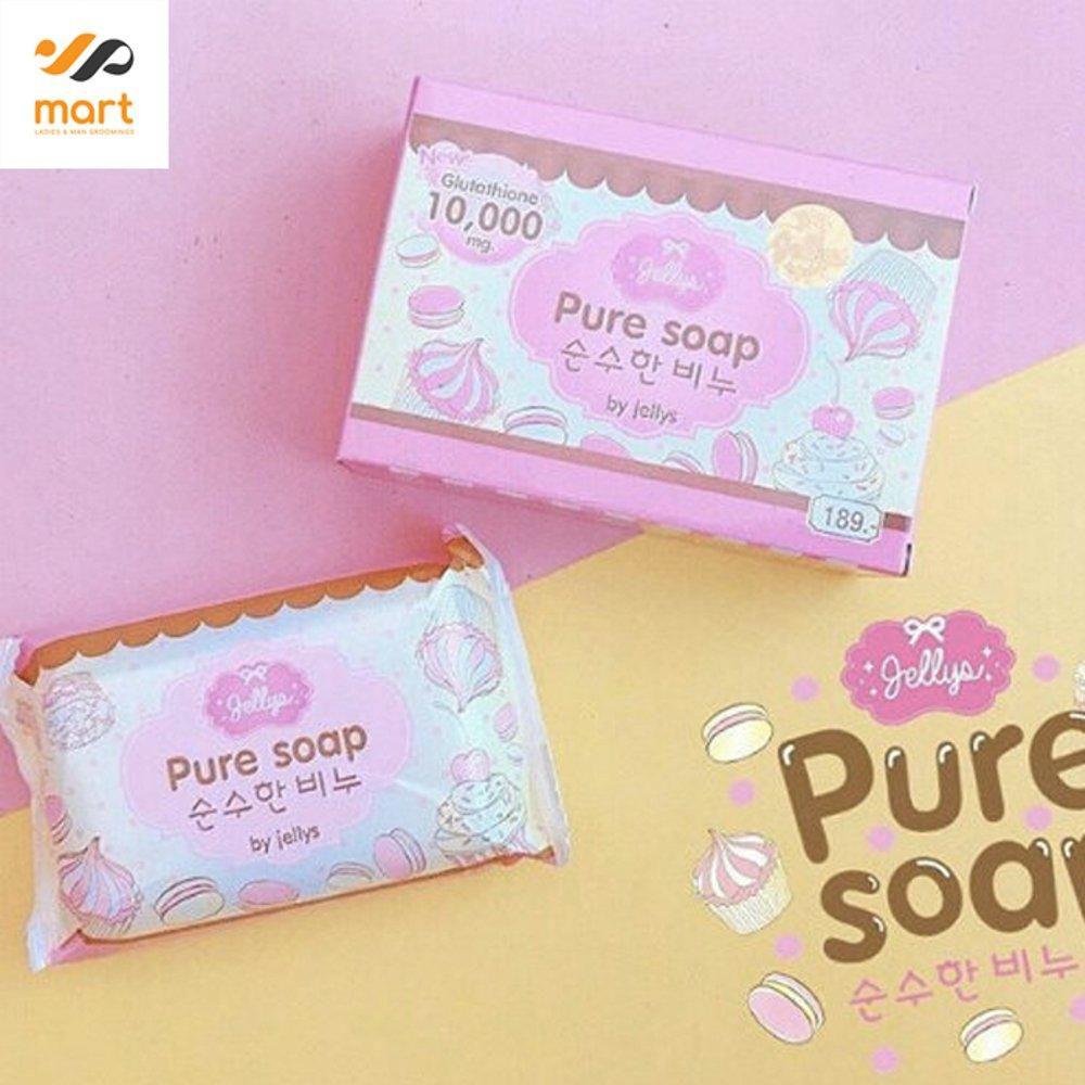 Pure Body Soap By Jellys Bpom Sabun Pemutih 100 Gram 1pc Daftar Jelly Whitening Thailand No Mercury Original