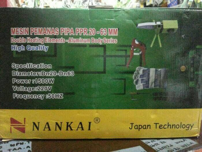 Mesin Las / Pemanas Pipa PPR Nankai 20 mm - 63 mm