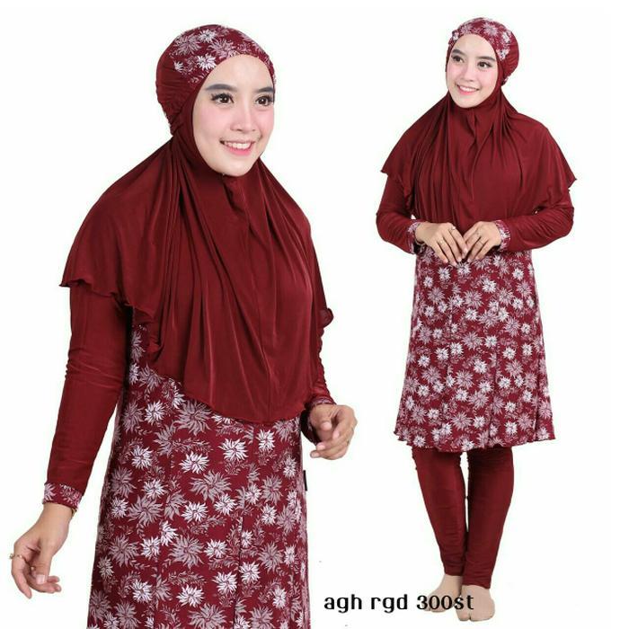 HARGA DISKON!!! Baju Renang Muslimah Big Size/Jumbo XXL - okhcil