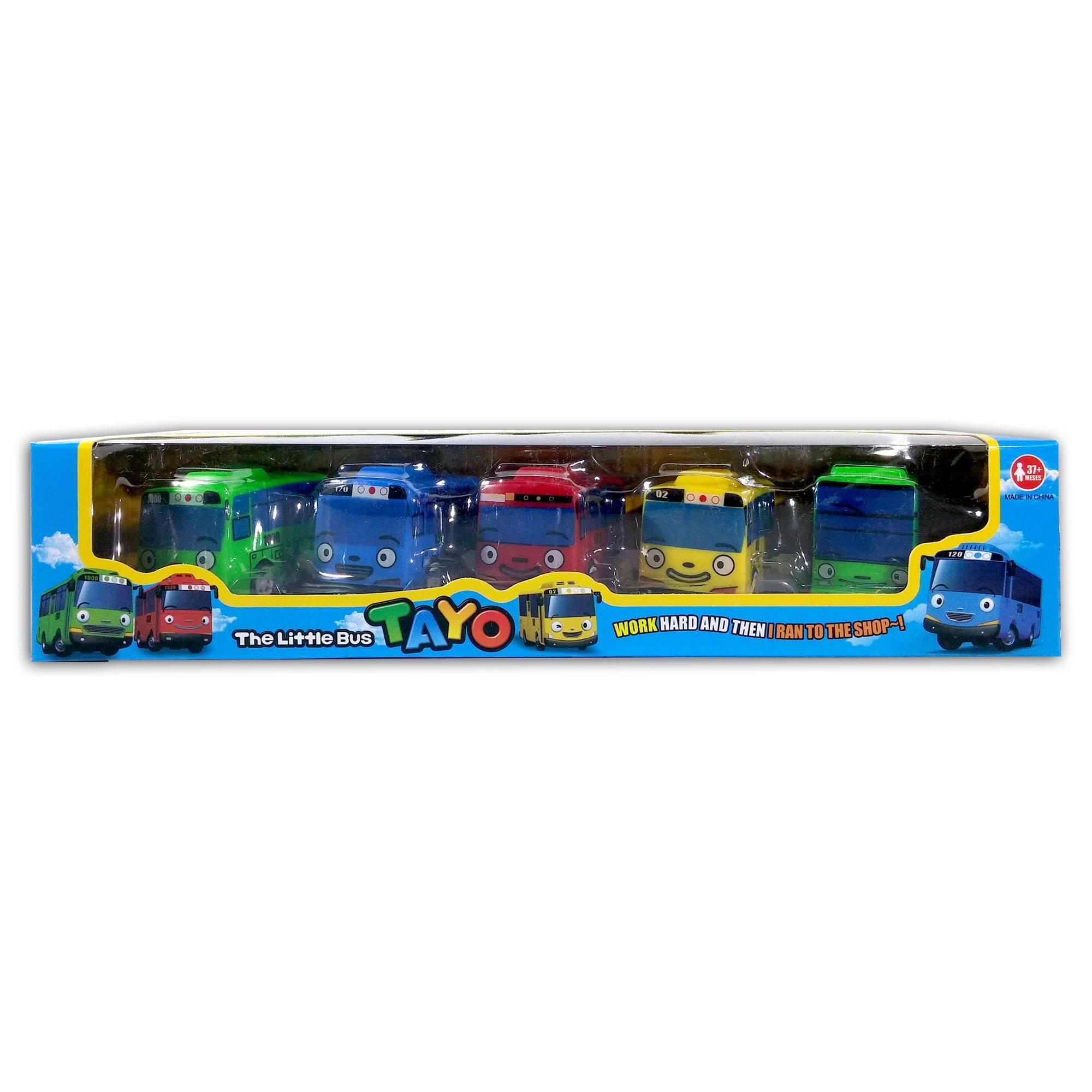 Fio Online - Tayo The Little Bus 1 set 5 pcs - Play Set Mainan Anak 4b134aeda7