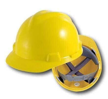 Harga Terbaik!! Helm Proyek Msa Cap Lokal - ready stock