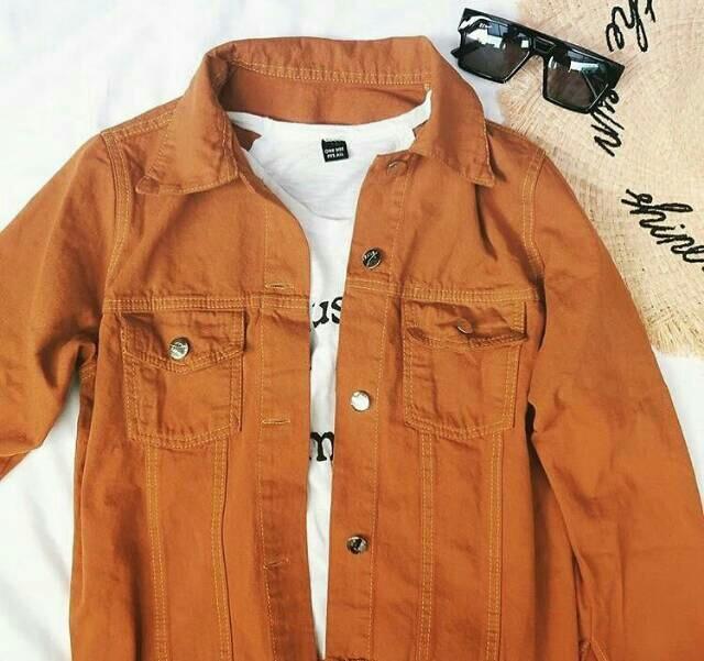 Anggun Store – Jaket Denim Wanita – Jaket Jeans Denim Wanita – Jaket Jeans Best Seller By Anggun-Store.