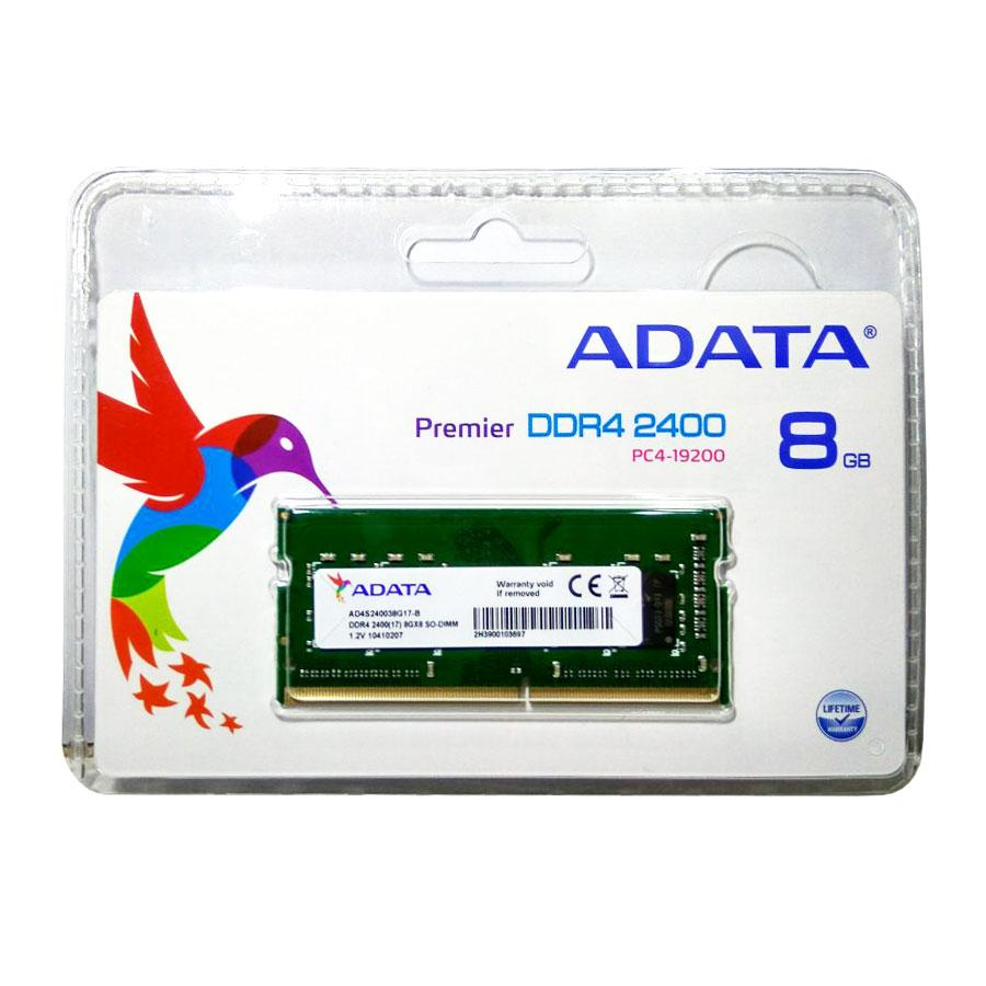Adata Premier Ddr4 2400 So-Dimm Pc4-19200 Memory Ram 8 Gb Green By Adata Official Store.