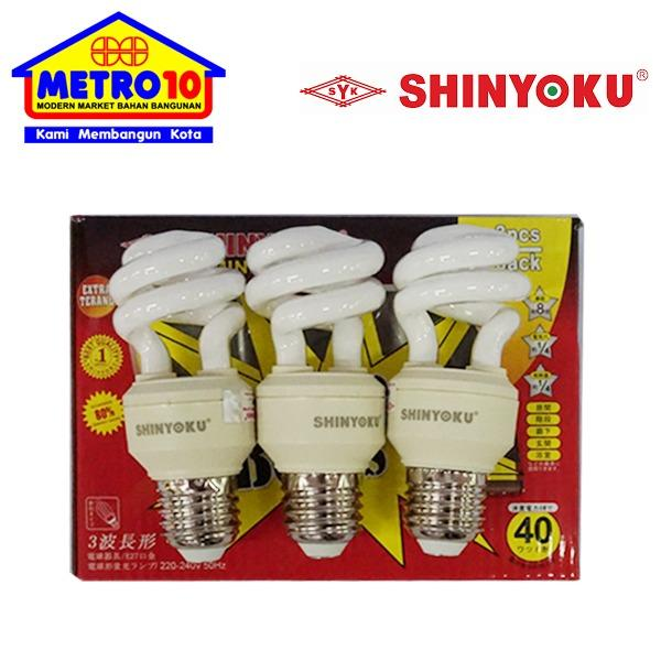 SHINYOKU Lampu Per 23 Watt Buy 2 Get 1 Set