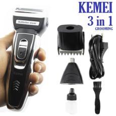 Clipper Kemei KM-5558 Alat Cukur Rambut Kumis Jenggot Bulu Hidung 24255ccffe