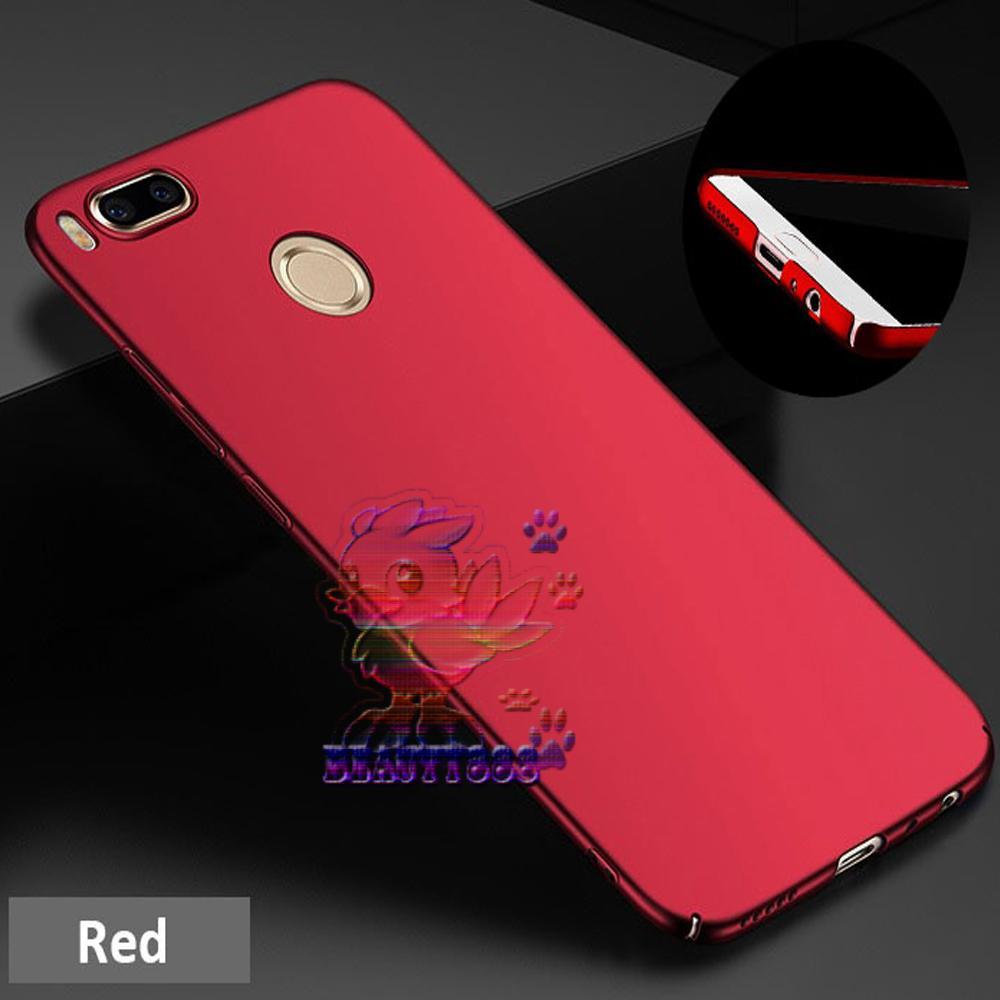 Case Xiaomi Mi A1 Hard Slim Red Mate Anti Fingerprint Hybrid Case Baby Skin Xiaomi Mi A1 Baby Soft