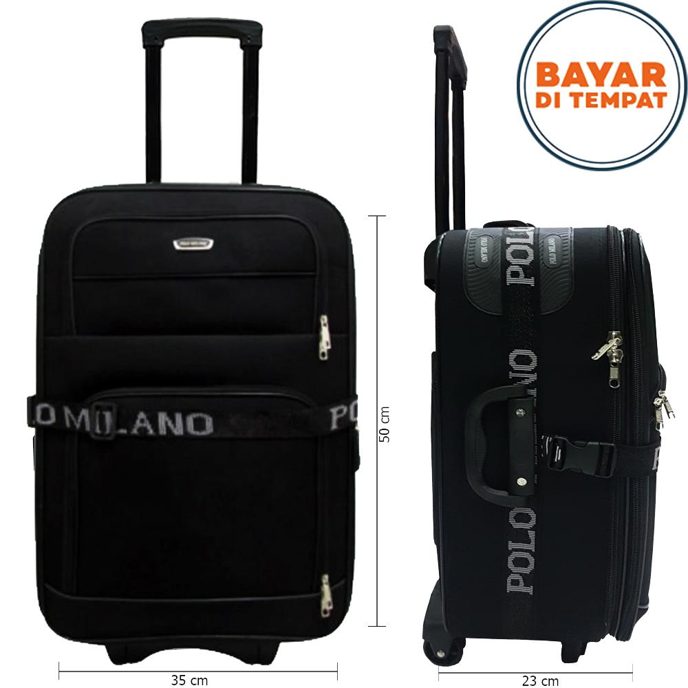 Koper Polo Milano Koper Bahan Ukuran 20 Inchi 208-20 Expandable Import Original - Black