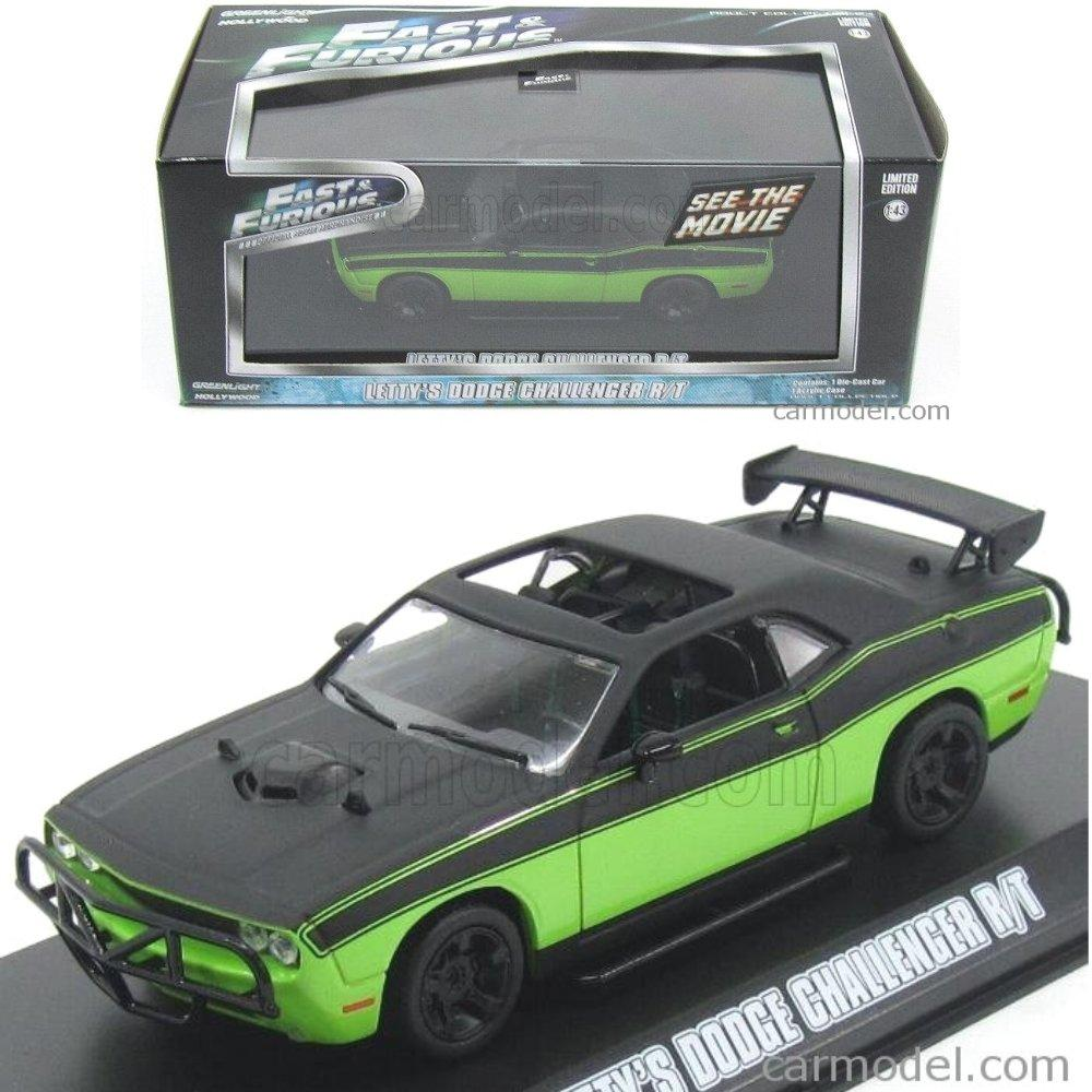 Greenlight Fast Furious Letty Dodge Challenger RT # Vovo Toys vovotoys