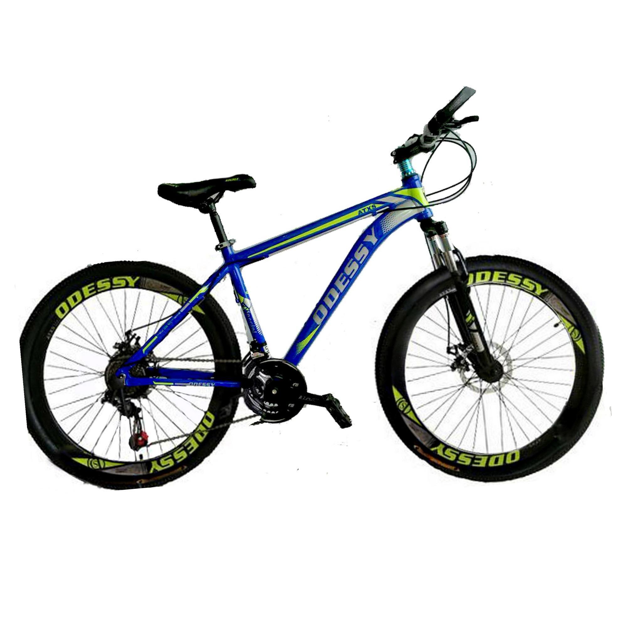 Odessy Atxs 500 MTB Alloy Sporty Sepeda Gunung MTB 26  - Blue Electrik (KHUSUS PULAU JAWA)
