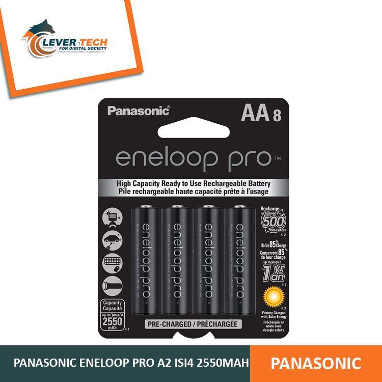Panasonic Rechargeable Battery Eneloop Pro AA 2550mAh
