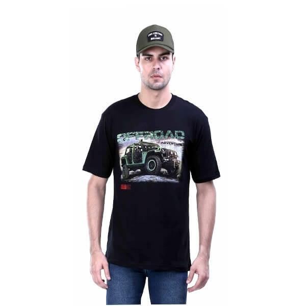 G-shop Kaos Distro Bandung Pria Hitam - AMD 0812