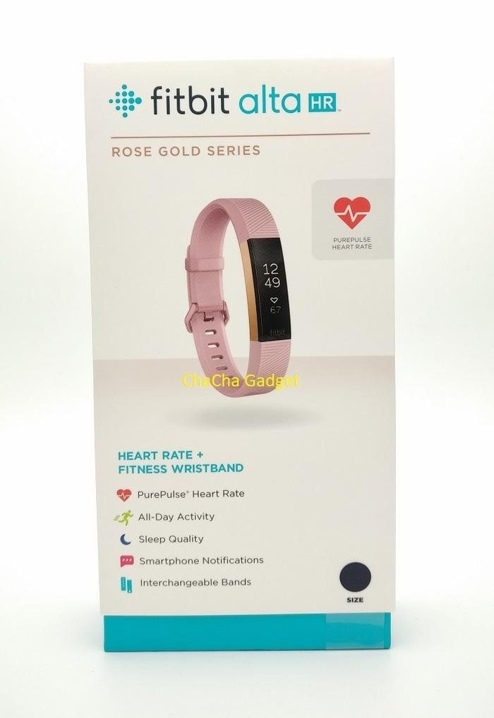 BEST SELLER!!! Fitbit Alta HR Fitness Wristband Smartwatch Tracker Pink Rose Gold S - TNx8IZ