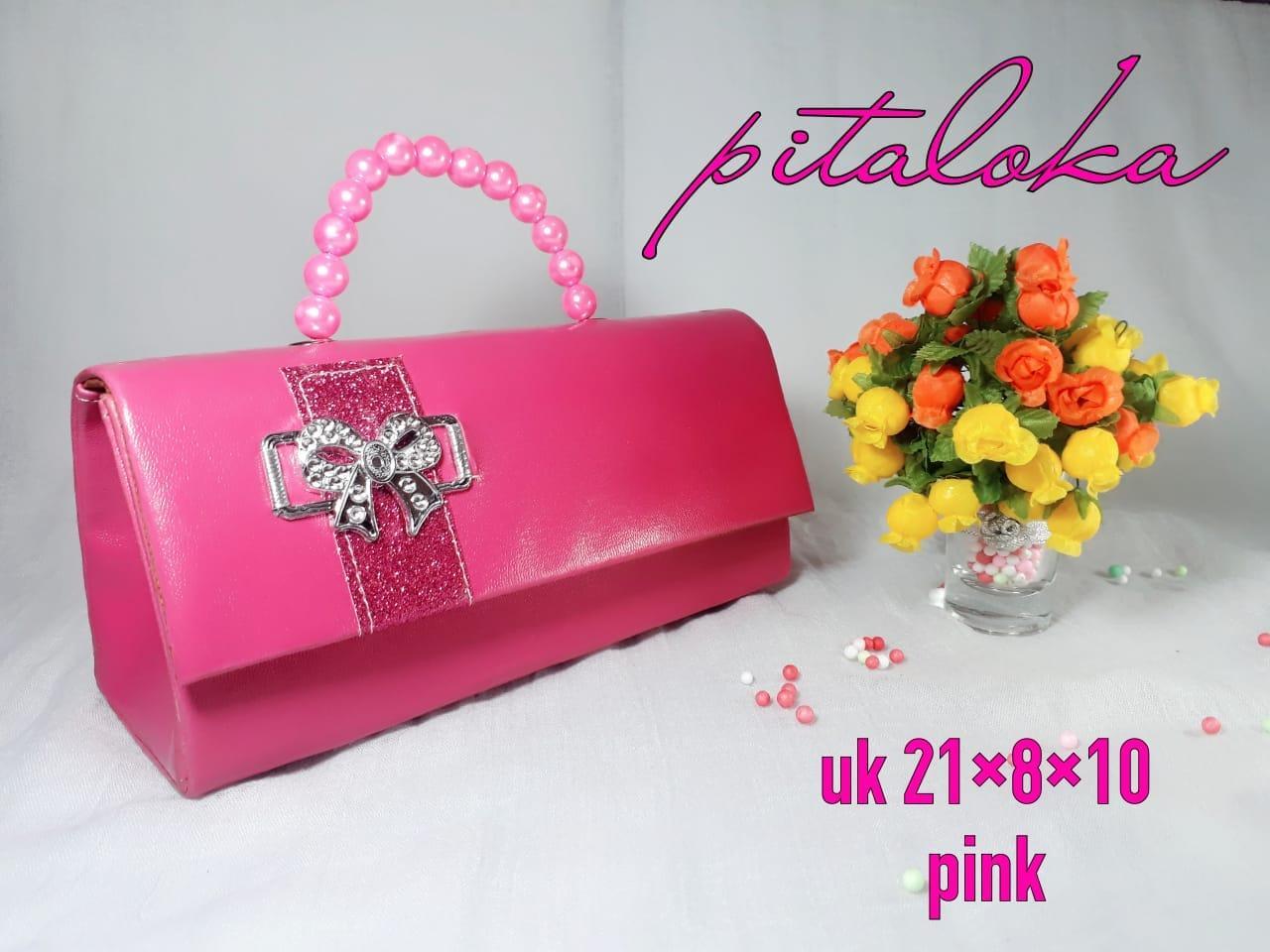 Tas Pesta Pitaloka Full Pink