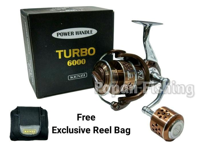 Reel Kenzi Turbo 6000 Power Handle