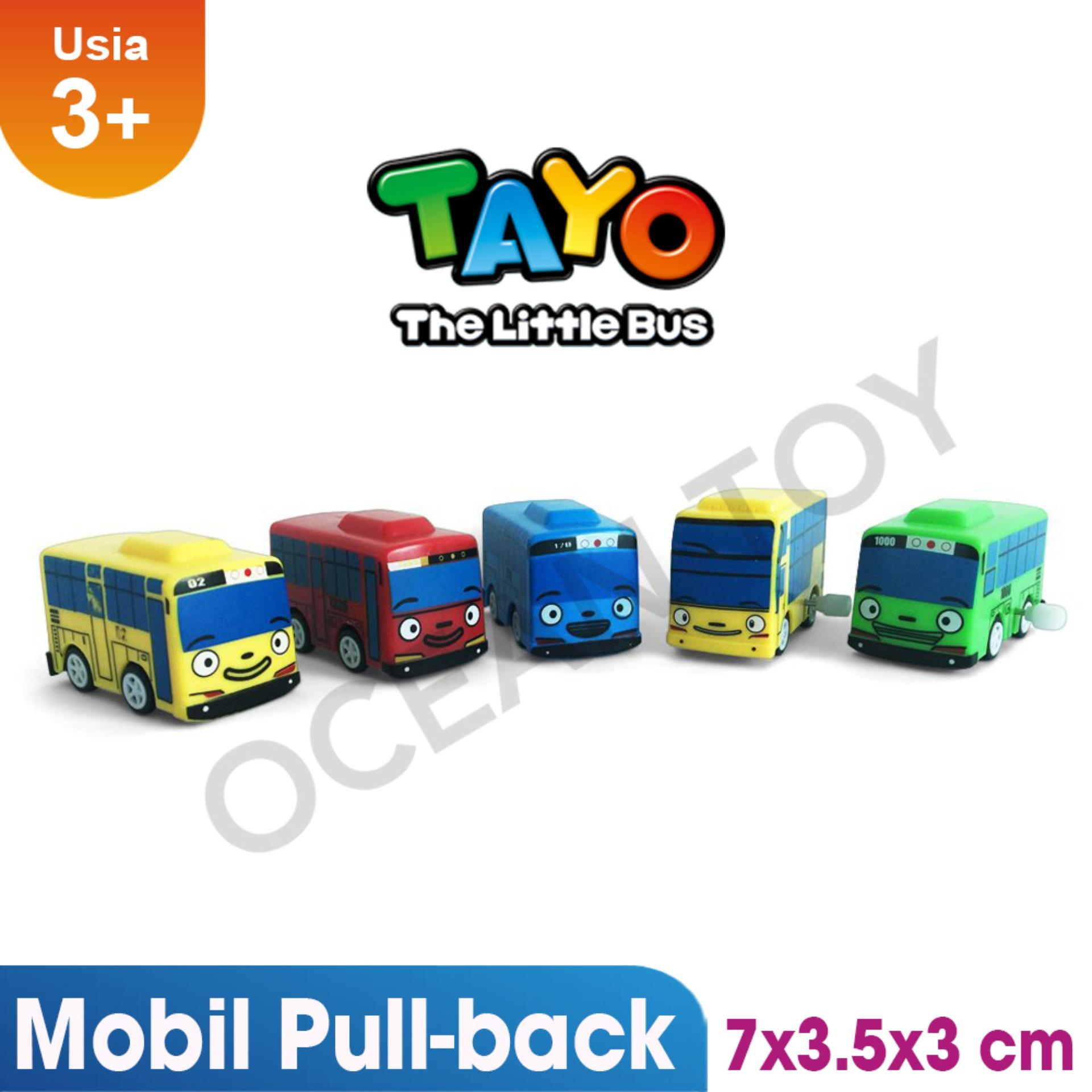 Ocean Toy The Little Bus Tayo Mainan Anak Isi 5 Pcs - DK01