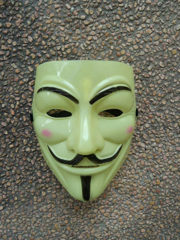 (Kostum Acessoris Pesta) Vendetta Pvc Cream Import Partai Grosir