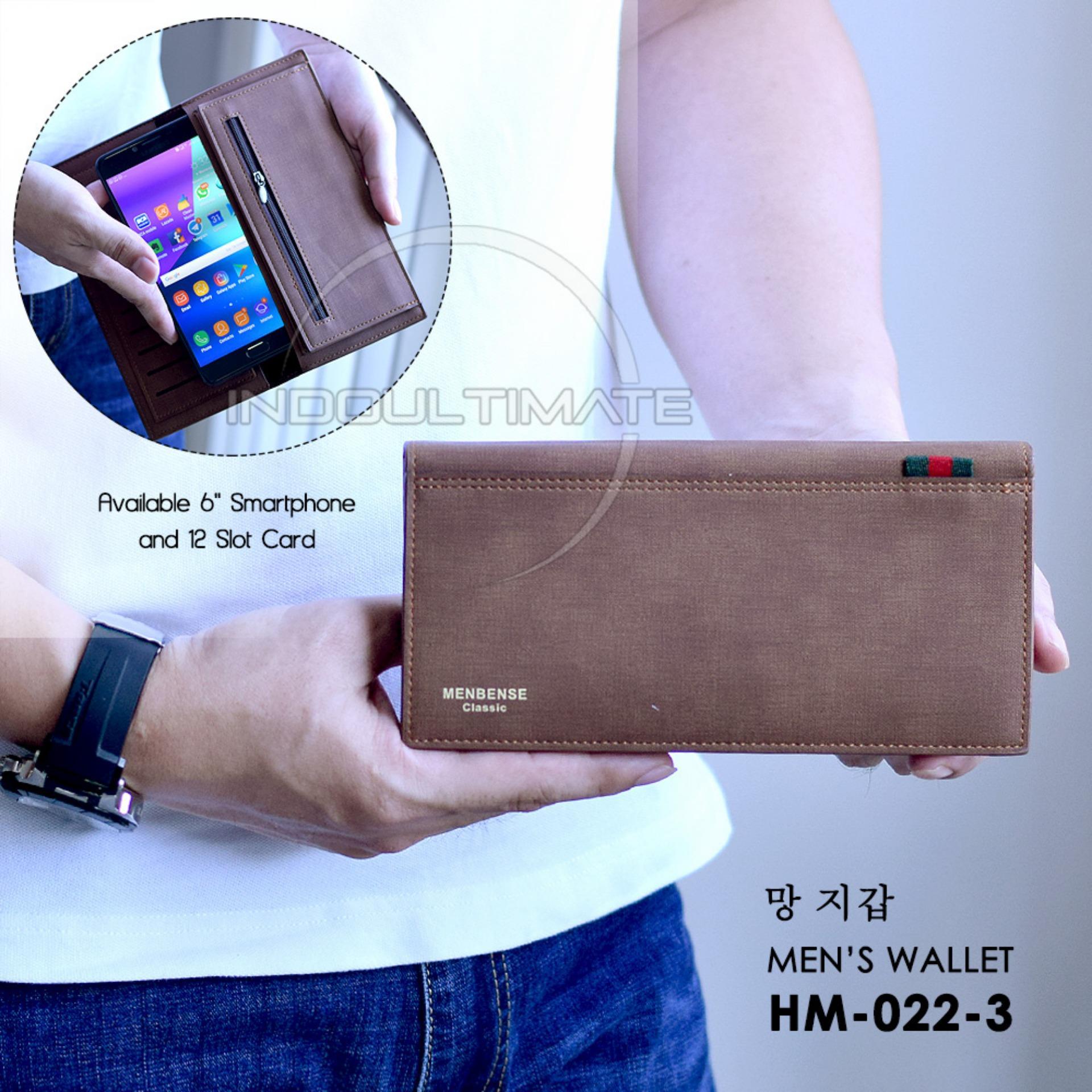 Ultimate Dompet Pria HM-022-3 / Dompet Cowok Kartu ATM Panjang Lipat Import Murah