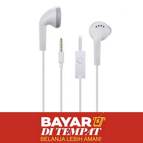 Handsfree For Samsung J1 Ace V Prime Handsfree Earphone Headset Kualitas Original ORI - Bisa Untuk Samsung Galaxy S4 S5 S6 S7 EDGE A3 A5 J1 J2 J3 J5 J7 2016 E5 E7 Mega Mini Young Y Core Grand Duos Prime Ace Note 1 2 3 4 5 On