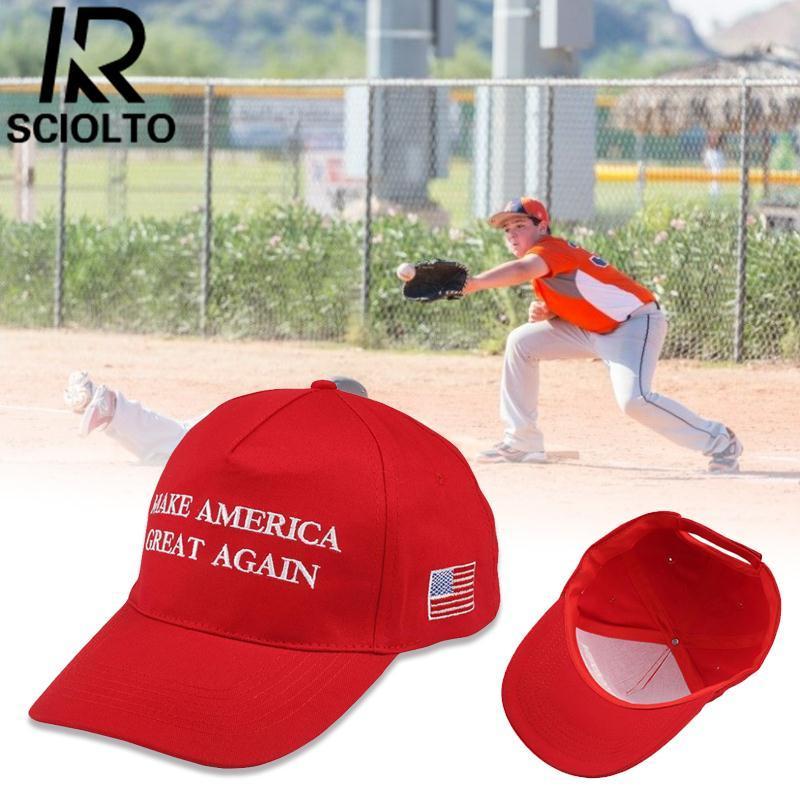 Sciolto Olahraga Membuat Amerika Hebat Lagi Bendera Amerika AS Bintang  Tutup Dapat Disesuaikan Bola Matahari Topi 55886fe069