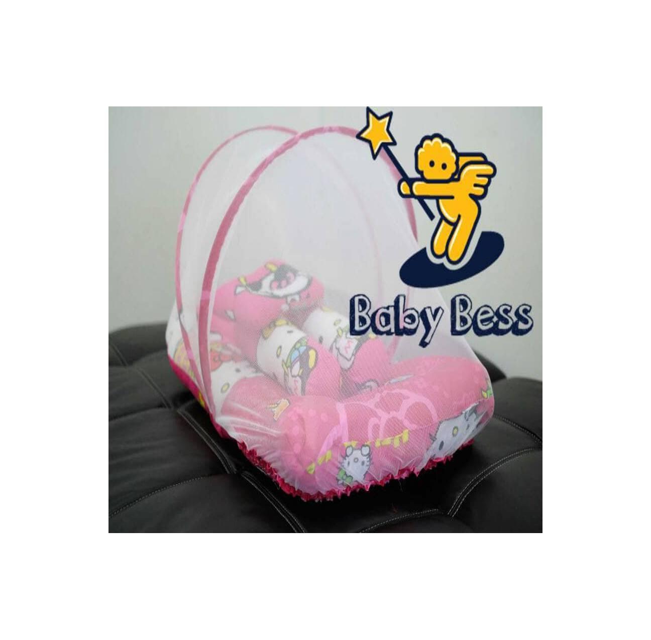 BBSS - kasur lipat kelambu bess - hello kitty - matras bayi - gendonga