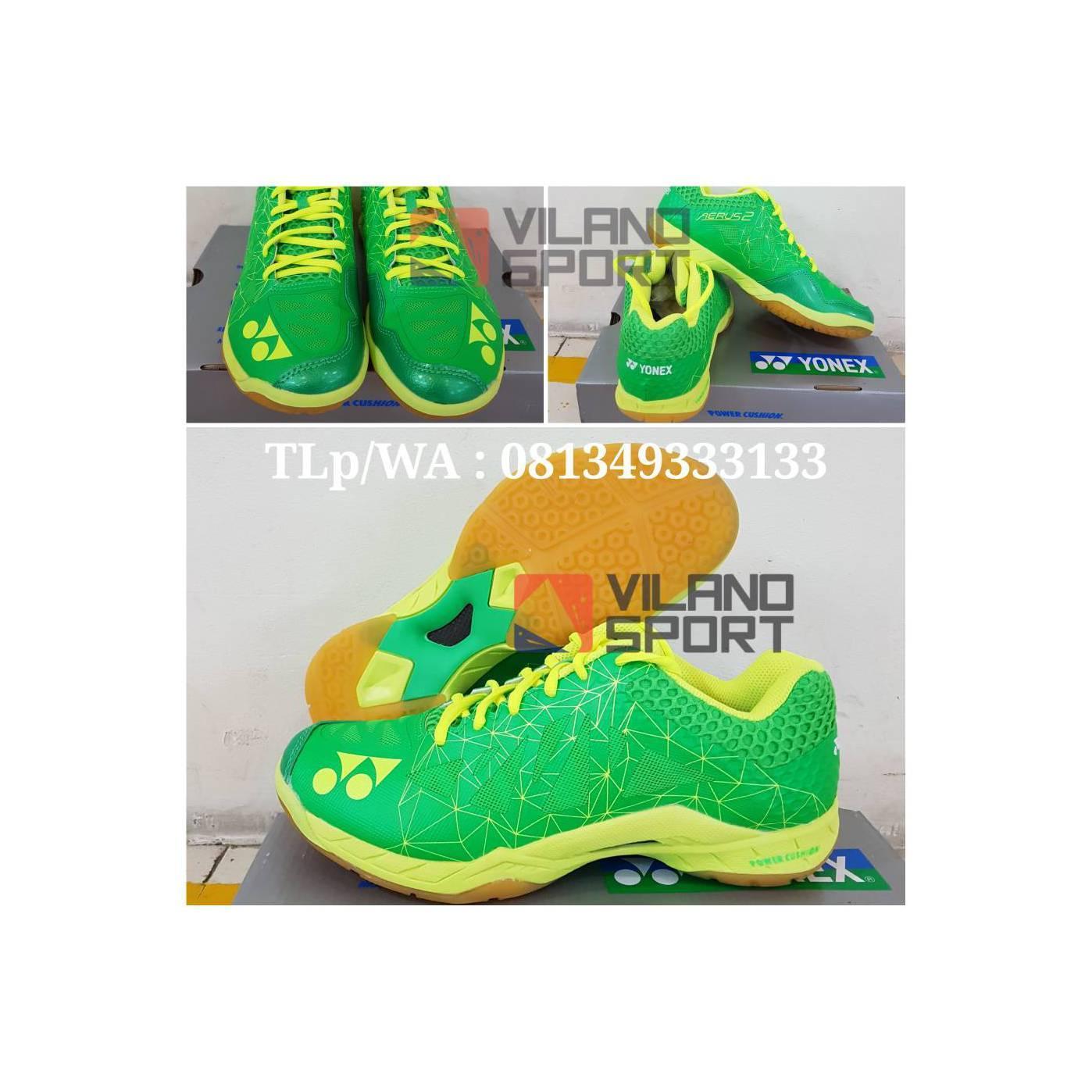 Sepatu Badminton Yonex Aerus 2 Green