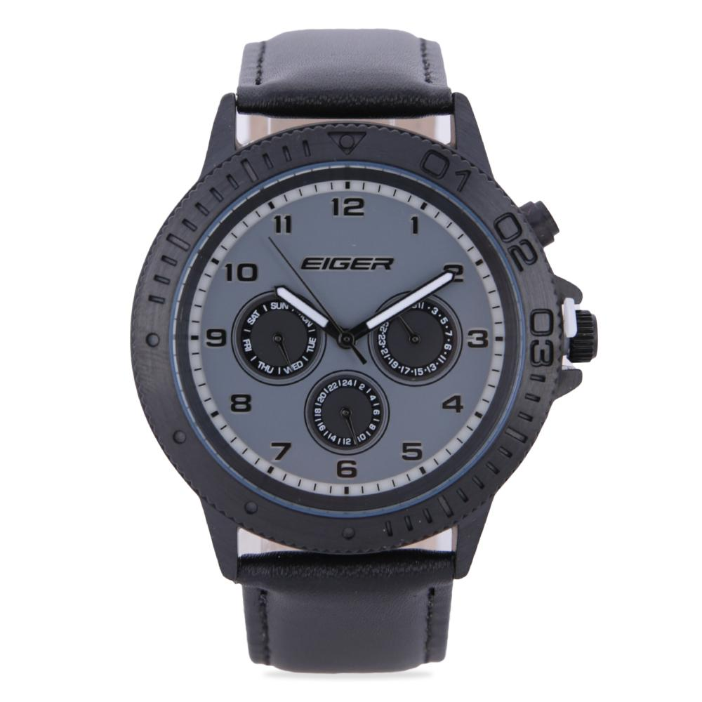 Eiger Riding Torque Watch - Black