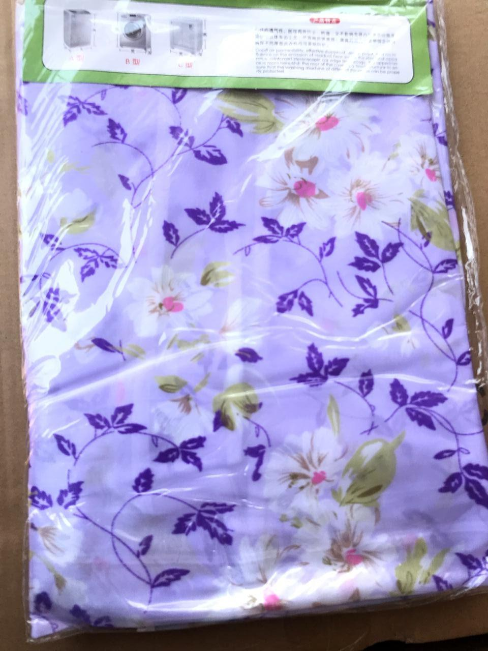 Kain Penutup Cover Furnitur Cotton Floral Headboard Tutup Sandaran Springbed