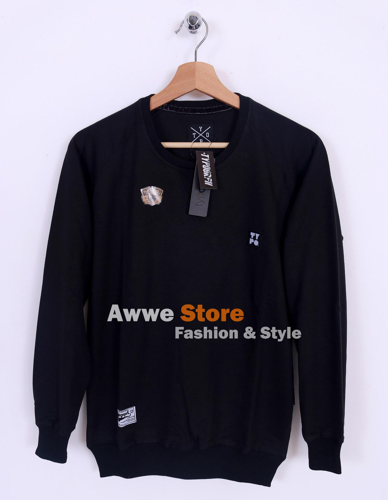 Awwe Store Sweater termurah / sweater pria / sweater distro / sweater tanah abang / sweater fashion / jaket / sweater thypograph 06