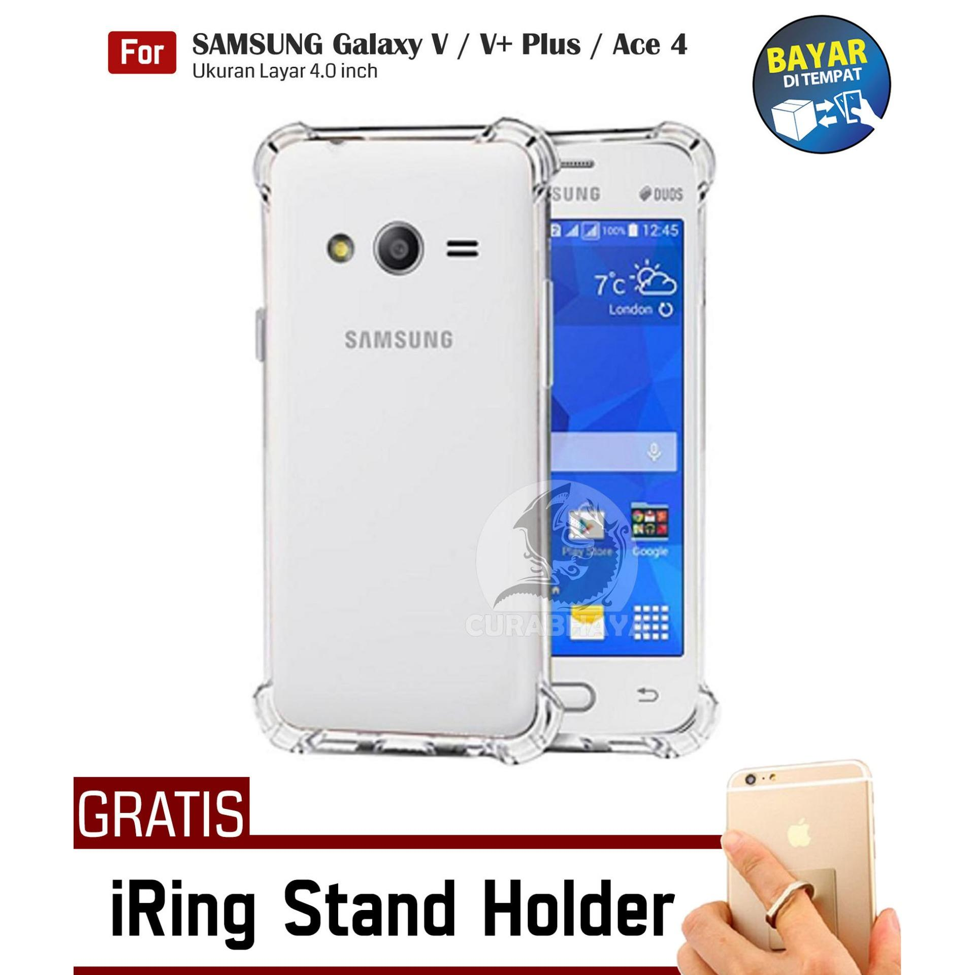 AirShock Samsung Galaxy V / V+ Plus / Ace 4 / G313 / Duos | Anti Crack Premium Softcase Cushion Sho