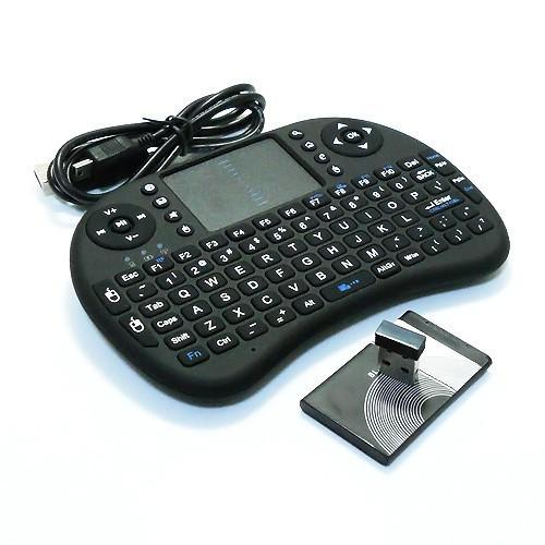 Lumin i8 Mini Keyboard Wireless 2.4G gaming Keyboard Touchpad
