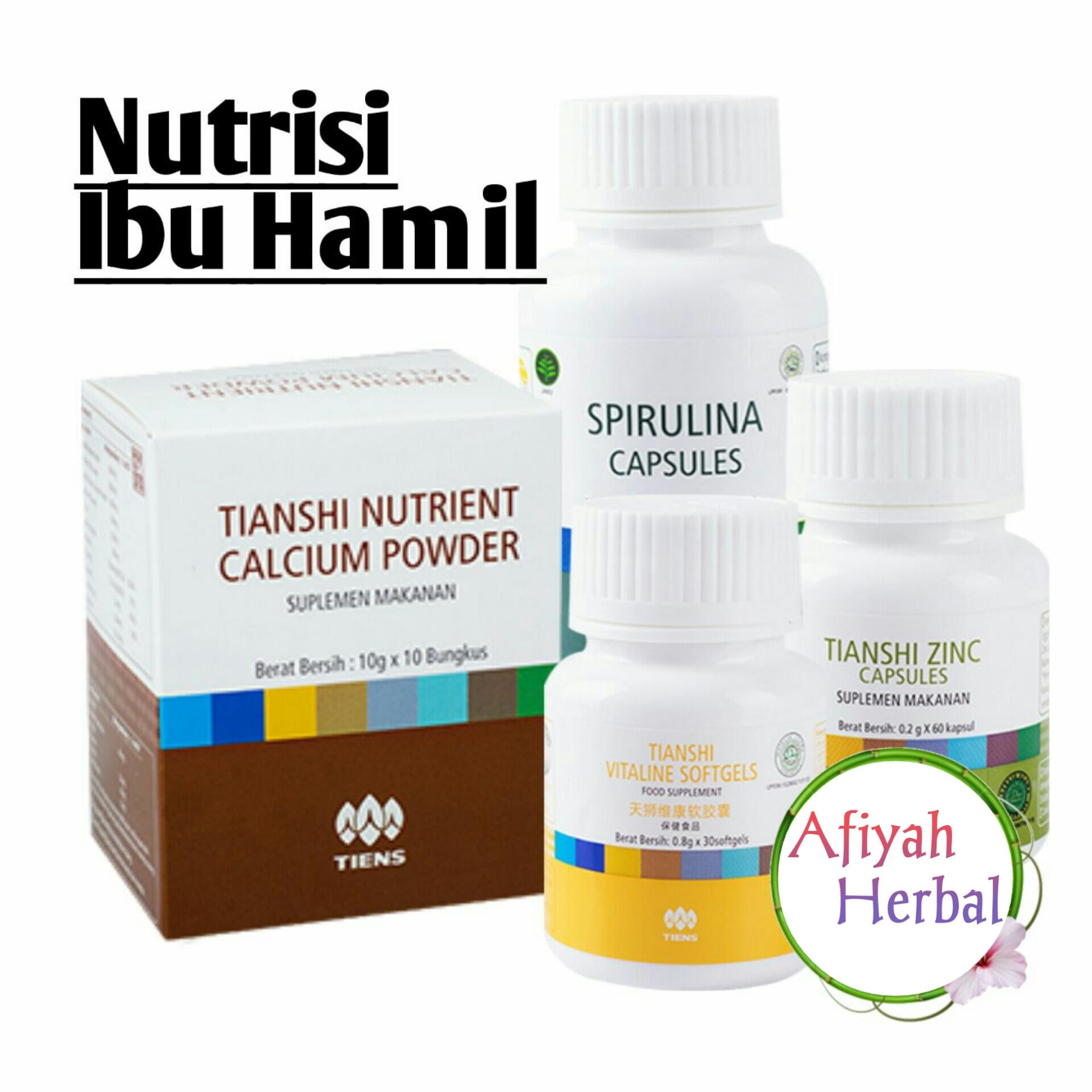 PROMO DAHSYAT !!! Tiens Paket Nutrisi Ibu Hamil & Menyusui / Nutrisi Bagi Janin dan Bayi / VItaline