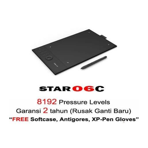 PROMO!!! XP PEN STAR 06 C DRAWING TABLET Garansi Resmi Bonus Lengkap