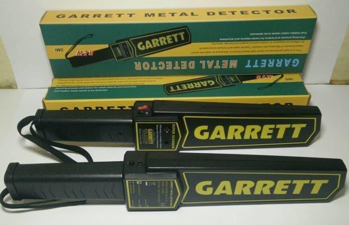 Garrett Metal Detector Pendeteksi Logam Super Aman