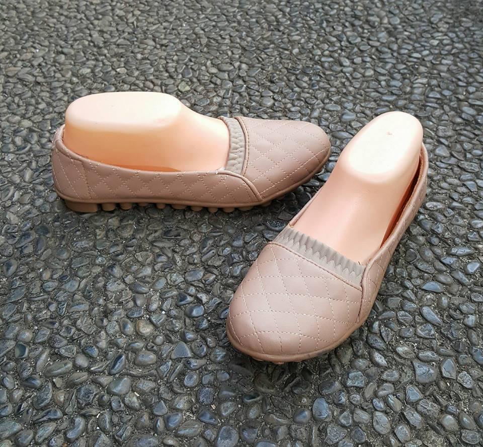 Sepatu Wanita Flatshoes Motif Kulit Coklat Camel Daftar Harga Flat Shoes  Wfs171002993 Khaki Cokelat Tua 37 c55ed98050