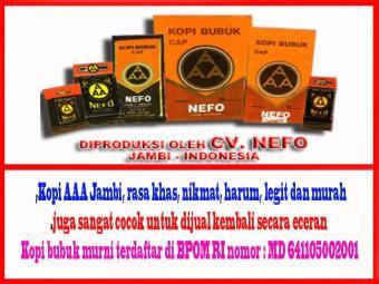 Bandingkan Toko [ PROMO ]kopi bubuk cap AAA - Kopi Jambi sale - Hanya Rp14.475