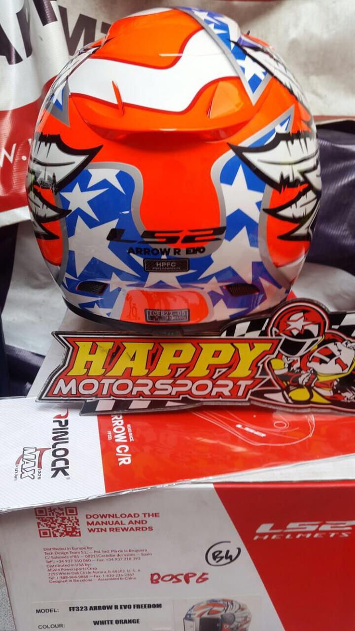Helm Ls2 F323 arrow R evo freedom size XL (idem L merk